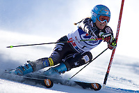 SOELDEN AUSTRIA OCT 25, Julia Mancuso USA  competing in the womens giant slalom race at the Rettenbach Glacier Soelden Austria, the opening race of the 2008/09 Audi FIS Alpine Ski World Cup