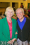 Maria and John Gearey from Abbeyfeale enjoying the live performance from the Kerry Choral Union in Tournafulla last Friday night as part of a fundraising event for St. Ita's Hopice, Newcastle West.