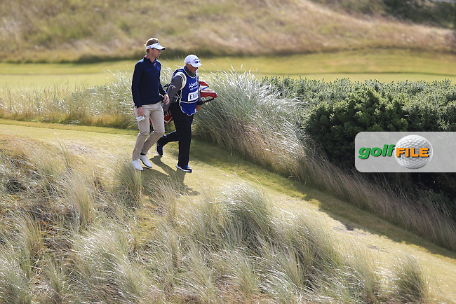 Ben Evans (ENG) during the first round of the Aberdeen Asset Management Scottish Open 2016, Castle Stuart  Golf links, Inverness, Scotland. 07/07/2016.<br /> Picture Fran Caffrey / Golffile.ie<br /> <br /> All photo usage must carry mandatory copyright credit (&copy; Golffile | Fran Caffrey)