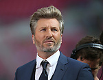 Robbie Savage working as a BT Sport Pundit during the Emirates FA Cup Final match at Wembley Stadium, London. Picture date: May 27th, 2017.Picture credit should read: David Klein/Sportimage
