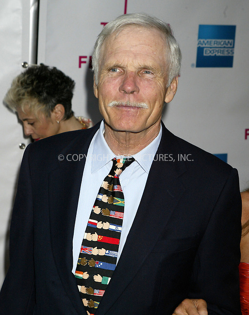 WWW.ACEPIXS.COM . . . . .  ....NEW YORK, APRIL 18 ,2005....Ted Turner at the premiere of 'The Interpreter' which starts the Tribeca Film Festival.....Please byline: Ian Wingfield - ACE PICTURES..... *** ***..Ace Pictures, Inc:  ..Craig Ashby (212) 243-8787..e-mail: picturedesk@acepixs.com..web: http://www.acepixs.com