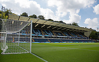 The Frank Adams Stand during the Sky Bet League 2 match between Wycombe Wanderers and York City at Adams Park, High Wycombe, England on 8 August 2015. Photo by Andy Rowland.