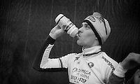 Zdenek Stybar (CZE) next to the podium (finished 3rd)<br /> <br /> UCI Worldcup Heusden-Zolder Limburg 2013