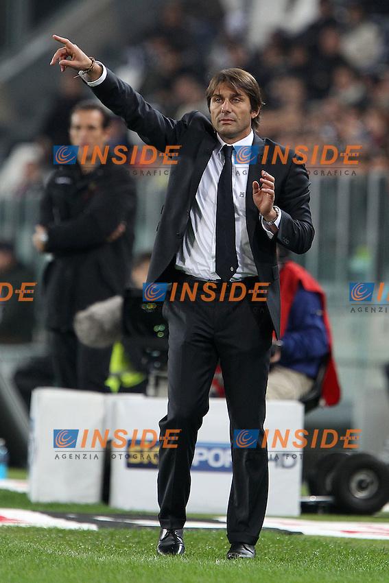 Antonio Conte Juventus.Torino 25/10/2011 Stadio Juventus.Serie A 2011/12.Football Calcio Juventus vs Fiorentina.Foto Insidefoto Paolo Nucci