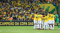 RIO DE JANEIRO, 30.06.2013 - COPA DAS CONFEDERAÇÕES - FINAL - BRASIL X ESPANHA - Neymar  após vitória por 3 a 0 sobre a Espanha na final da Copa das Confederações Estádio do Maracanã, na zona norte do Rio de Janeiro, neste domingo, 30. (Foto: William Volcov / Brazil Photo Press).