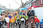 The annual Féile Lughnasa parade in Clóghane village last Sunday evening.