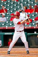 Caleb Ramsey #28 of the Houston Cougars at bat against the Baylor Bears at Minute Maid Park on March 4, 2011 in Houston, Texas.  Photo by Brian Westerholt / Four Seam Images