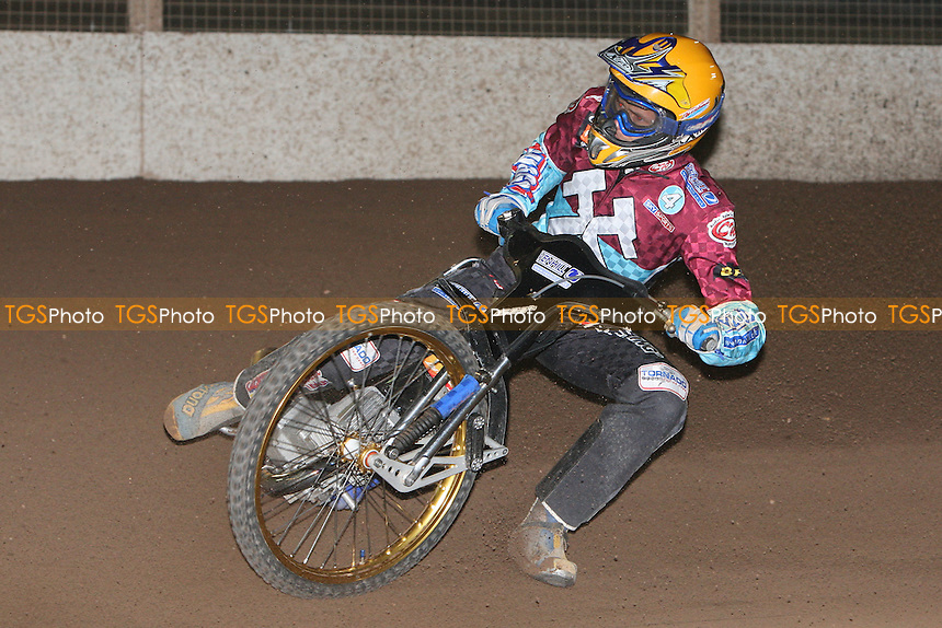 Jonas Davidsson of Lakeside - Ipswich Witches vs Lakeside Hammers - Speedway Challenge Match First Leg at Foxhall Stadium, Ipswich, Suffolk - 19/03/09 - MANDATORY CREDIT: Gavin Ellis/TGSPHOTO - Self billing applies where appropriate - 0845 094 6026 - contact@tgsphoto.co.uk - NO UNPAID USE.