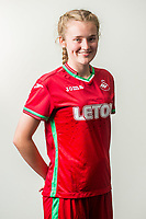 Wedensday 26 July 2017<br />Pictured: Emily Richards<br />Re: Swansea City Ladies Squad 2017- 2018 at the Liberty Stadium, Wales, UK