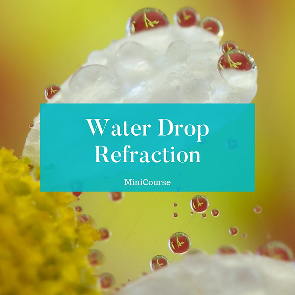 Water Drop Refraction Mini-Course
