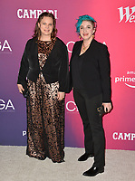 LOS ANGELES, CA. February 19, 2019: Kimberlee Iblings & Aidan Vith at the 2019 Costume Designers Guild Awards at the Beverly Hilton Hotel.<br /> Picture: Paul Smith/Featureflash