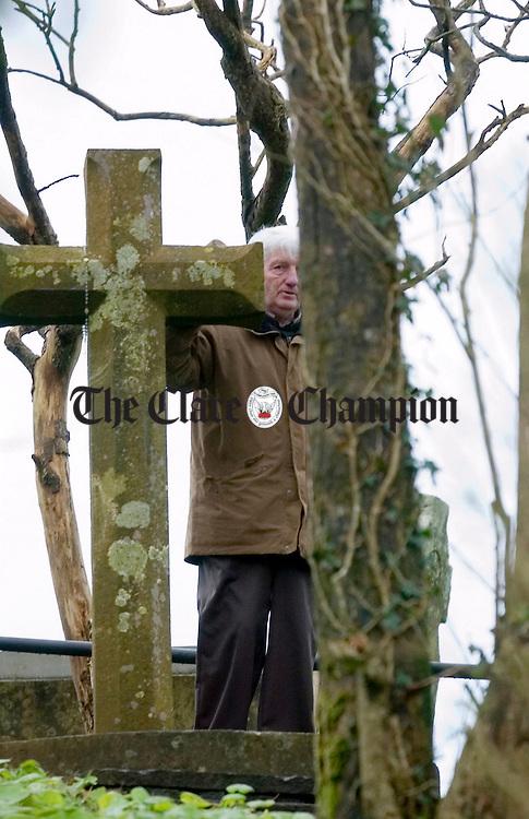 St Bridgets Well on the feast of St Bridget Feb 1st 2007.Pic Arthur Ellis.
