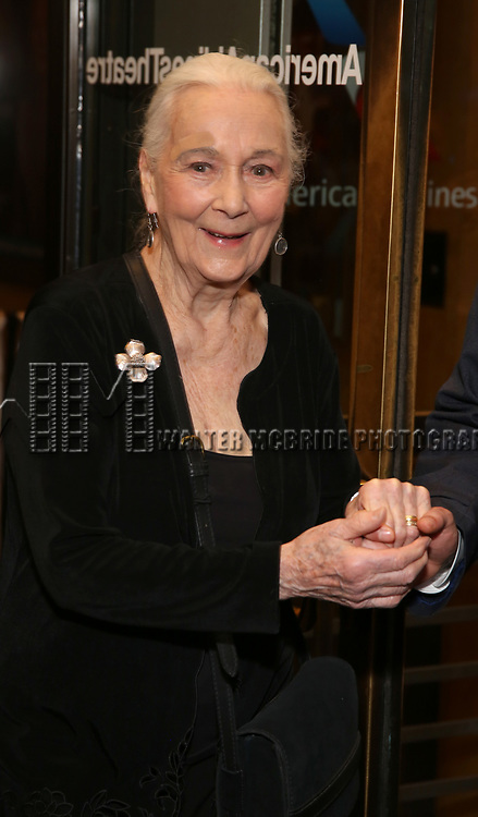 """Rosemary Harris Attends the Broadway Opening Night of """"All My Sons"""" at The American Airlines Theatre on April 22, 2019  in New York City."""
