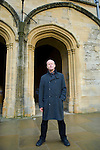 Jim Crace at Christ Church during the Sunday Times Oxford Literary Festival, UK, 16 - 24 March 2013.<br />