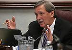 Nevada Assemblyman John Ellison, R-Elko, speaks in committe on Thursday, April 28, 2011, at the Legislature in Carson City, Nev. .Photo by Cathleen Allison