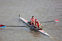 Crew: 37  Wallingford Rowing Club - Op 2- Intermediate<br /> <br /> Pairs Head 2019<br /> <br /> To purchase this photo, or to see pricing information for Prints and Downloads, click the blue 'Add to Cart' button at the top-right of the page.