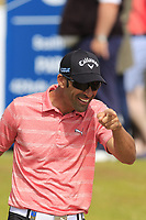 Alvaro Quiros (ESP) walks off the 8th tee during Friday's Round 2 of the 2018 Dubai Duty Free Irish Open, held at Ballyliffin Golf Club, Ireland. 6th July 2018.<br /> Picture: Eoin Clarke | Golffile<br /> <br /> <br /> All photos usage must carry mandatory copyright credit (&copy; Golffile | Eoin Clarke)