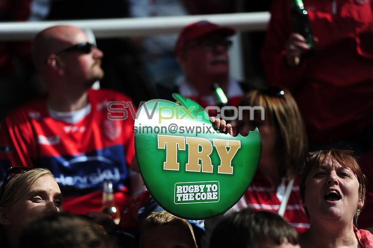 Picture by Simon Wilkinson/SWpix.com 30/05/2015 - First Utility Super League Magic Weekend - Rugby League St.James' Park Newcastle. The Brief<br /> <br /> copyright picture - Simon Wilkinson - simon@swpix.com