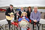 Portmagee prepares for annual May Bank Holiday Weekend of Music, Set Dancing, Ceilis, Dancing Workshops & the best of South Kerry Hospitality pictured here front l-r; Beryl Stracey, Ger Kennedy, back l-r; Gabriel Butler, Julian Stracey & Helen Farmer.