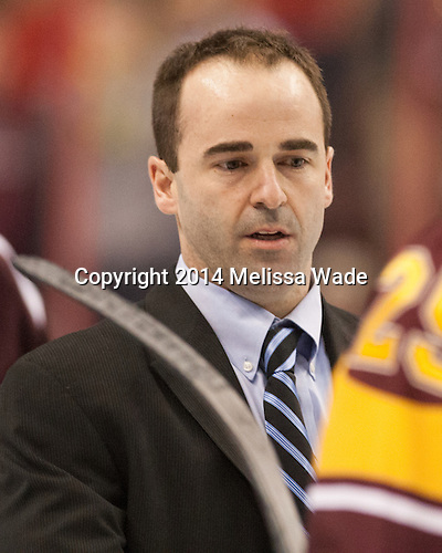 Joe Dumais (Union - Assistant Coach) - The Union College Dutchmen defeated the University of Minnesota Golden Gophers 7-4 to win the 2014 NCAA D1 men's national championship on Saturday, April 12, 2014, at the Wells Fargo Center in Philadelphia, Pennsylvania.