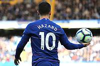 Eden Hazard of Chelsea during Chelsea vs Wolverhampton Wanderers, Premier League Football at Stamford Bridge on 10th March 2019