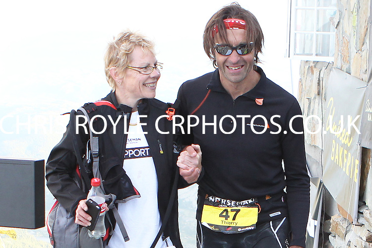 Race number 47 - Thierry Dretzen - Norseman Xtreme Tri 2012 - Norway - photo by chris royle/ boxingheaven@gmail.com