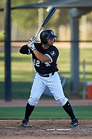 AZL White Sox Ivan Gonzalez (62) at bat during an Arizona League game against the AZL Royals at Camelback Ranch on June 19, 2019 in Glendale, Arizona. AZL White Sox defeated AZL Royals 4-2. (Zachary Lucy/Four Seam Images)