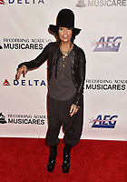 LOS ANGELES, CA - FEBRUARY 08: Linda Perry attends MusiCares Person of the Year honoring Dolly Parton at Los Angeles Convention Center on February 8, 2019 in Los Angeles, California.<br /> CAP/ROT/TM<br /> &copy;TM/ROT/Capital Pictures