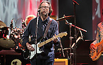 Eric Clapton performs at the Sommet Center in Nashville, Tennessee on Saturday, Feb. 27, 2010. (Photo by Frederick Breedon)