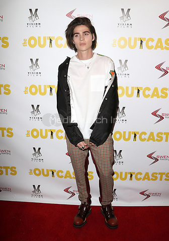 "WESTWOOD, CA - April 13: William Peltz, At Premiere Of Swen Group's ""The Outcasts"" At The Landmark Regent  In California on April 13, 2017. Credit: FS/MediaPunch"