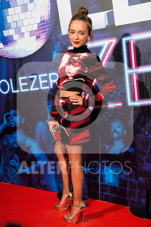 Lucia Gonzalez attends to the premiere of the The Hole Zero Show at Teatro Calderon in Madrid. October 04, 2016. (ALTERPHOTOS/Borja B.Hojas)
