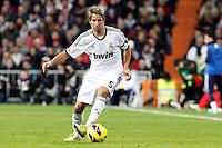 Fabio Coentrao during La Liga Match. December 02, 2012. (ALTERPHOTOS/Caro Marin)