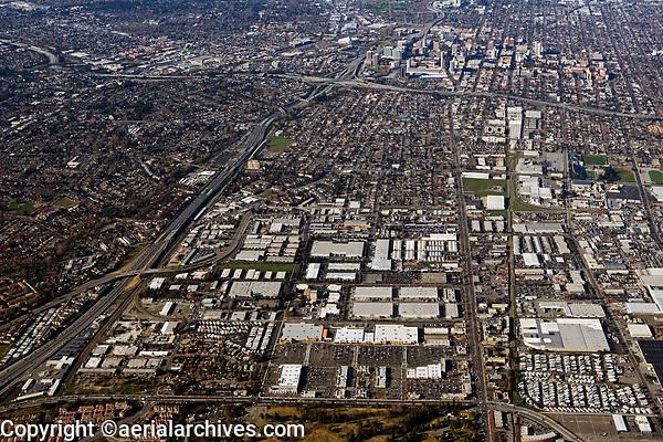 aerial photograph San Jose, Santa Clara county, California