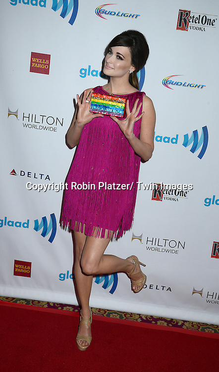 Kacey Musgraves  attends the 25th Annual GLAAD Media Awards at the Waldorf Astoria Hotel in New York City, NY on May 3, 2014.