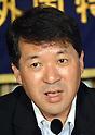 Niigata Governor Hirohio Izumida at FCCJ