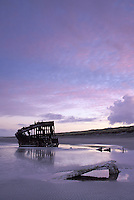 Wreck of Peter Iredale (wrecked 1906), Fort Stevens State Park, Oregon