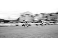 Sep Vanmarcke (BEL/LottoNL-Jumbo) racing towards the Champs Elysées<br /> <br /> stage 21: Sèvres - Champs Elysées (109km)<br /> 2015 Tour de France