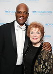 Kenny Leon and Anita Gillette attend the SDC Foundation presents The Mr. Abbott Award honoring Kenny Leon at ESPACE on March 27, 2017 in New York City.