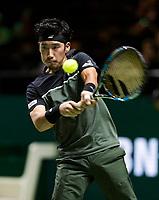 ABNAMRO World Tennis Tournament, 14 Februari, 2018, Rotterdam, The Netherlands, Ahoy, Tennis, Yuichi Sugita (JPN)<br /> <br /> Photo: www.tennisimages.com