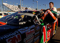 Nov 12, 2005; Phoenix, Ariz, USA;  Nascar Busch Series driver J.J. Yeley during the Arizona 200 at Phoenix International Raceway. Mandatory Credit: Photo By Mark J. Rebilas
