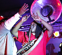 Soul Rebels playing at Voodoo Festival 2010 in New Orleans on Day 1.