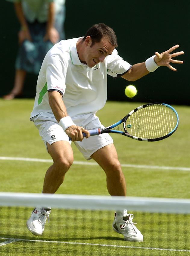 Photo. Jed Wee..Wimbledon Championships. 20/06/2005..Alberto Martin.