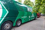 20.07.2019, Heinz Detmar Stadion, Lohne, Interwetten Cup 1.VfL Osnabrück vs SV Werder Bremen<br /> <br /> im Bild / picture shows <br /> Ankunft Werder bremen in Lohne<br /> <br /> Foto © nordphoto / Kokenge