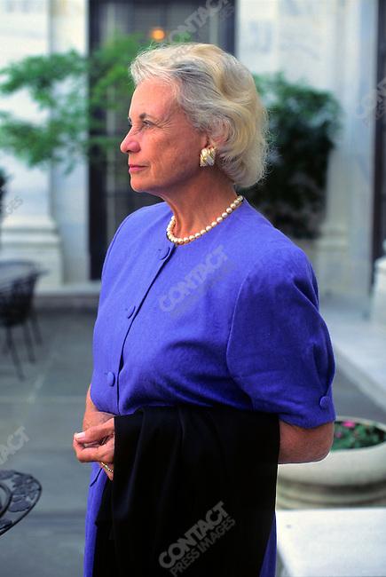 US Supreme Court Justice Sandra Day O'Connor. Washington, D.C., USA,  June 1997