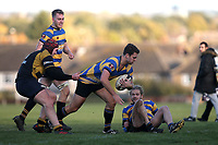 Upminster score their third try during Upminster RFC vs Billericay RFC, Essex Canterbury Jack League Rugby Union at Hall Lane Playing Fields on 3rd November 2018