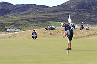 Andy Sullivan (ENG) on the 9th green during Round 3 of the Dubai Duty Free Irish Open at Ballyliffin Golf Club, Donegal on Saturday 7th July 2018.<br /> Picture:  Thos Caffrey / Golffile