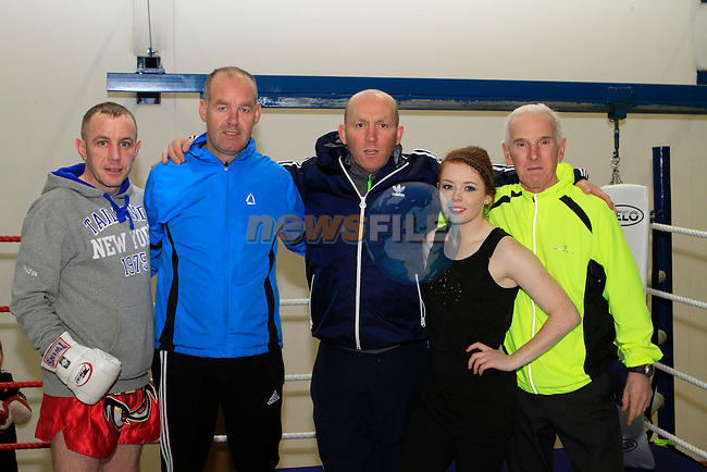 Coaches at Drogheda Boxing Club, Moneymore...Photo NEWSFILE/Jenny Matthews..(Photo credit should read Jenny Matthews/NEWSFILE)