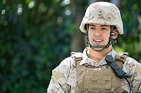 Young Male Marine David