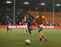 Blackpool's Marc Bola<br /> <br /> Photographer Stephen White/CameraSport<br /> <br /> Emirates FA Cup Third Round - Blackpool v Arsenal - Saturday 5th January 2019 - Bloomfield Road - Blackpool<br />  <br /> World Copyright © 2019 CameraSport. All rights reserved. 43 Linden Ave. Countesthorpe. Leicester. England. LE8 5PG - Tel: +44 (0) 116 277 4147 - admin@camerasport.com - www.camerasport.com