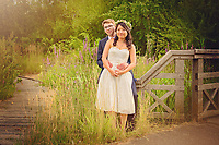 Summer Wedding Photo shoot at the London Wetland Centre